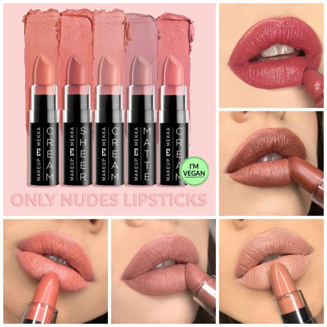 Only Nudes Lipsticks